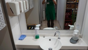 トイレ手洗台